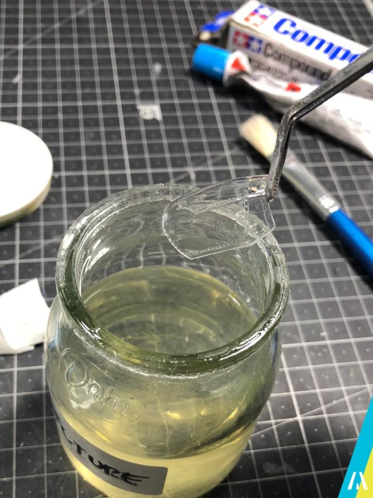 borrar lineas de moldeado en piezas transparentes