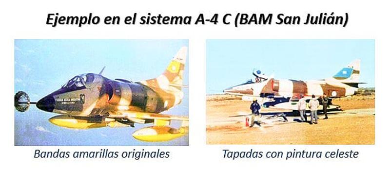 bandas-de-identificacion-aviacion-argentina-malvinas