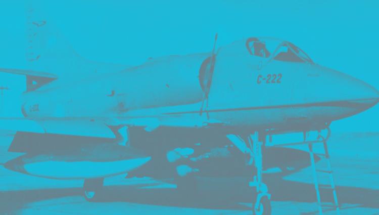 Bandas de identificación de la Aviación Argentina en la guerra de MLV