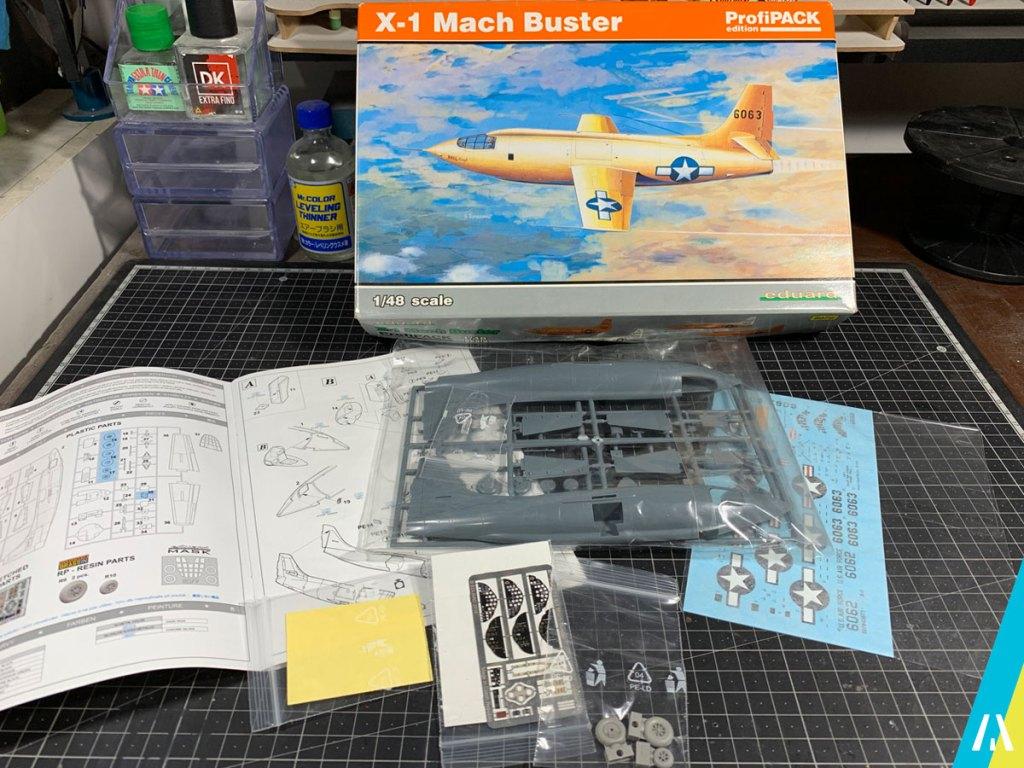 Bell X-1 Mach Buster Eduard