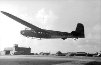 Italien, Lastensegler DFS 230 bei Landung