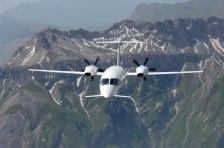 P180 in volo