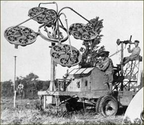 Télésitémètre de Perrin utilisé par l'armée impériale Années 1920