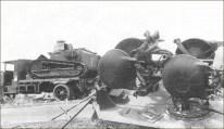 1940 Remorque Type B abandonnée