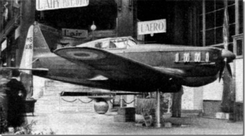 Morans Saulnier MS 406