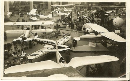 Salon 1934 les étrangers PZL, Avia, Cierva
