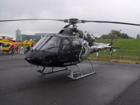 L'Eurocopter Fennec de l'Armée de l'Air.