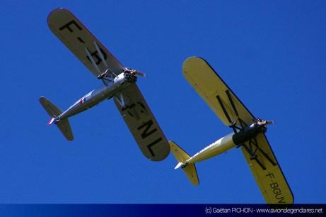 Deux Morane Saulnier MS-317