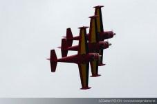"""Patrouille """"Red Devils"""" - Meeting Armée de l'Air - Nancy 2014"""