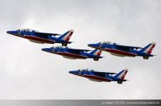 Patrouille de France - Meeting Armée de l'Air - Nancy 2014