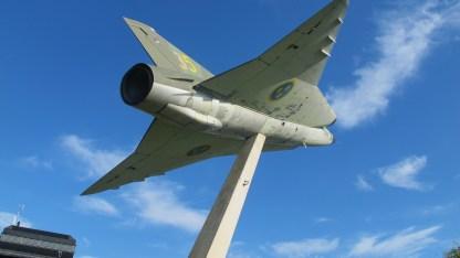 Saab J35 sur base de Fröson