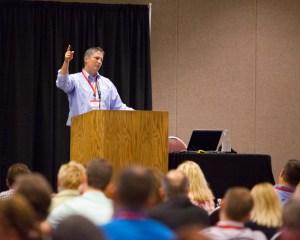John Long speaks at 2014 Client Connection Forum