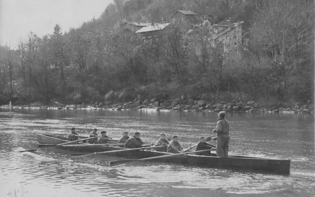 1946-1985 : L'Aviron Grenoblois devient un club qui compte dans le paysage français
