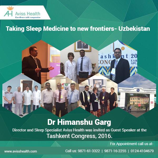 Taking Sleep Medicine to new frontiers – Uzbekistan