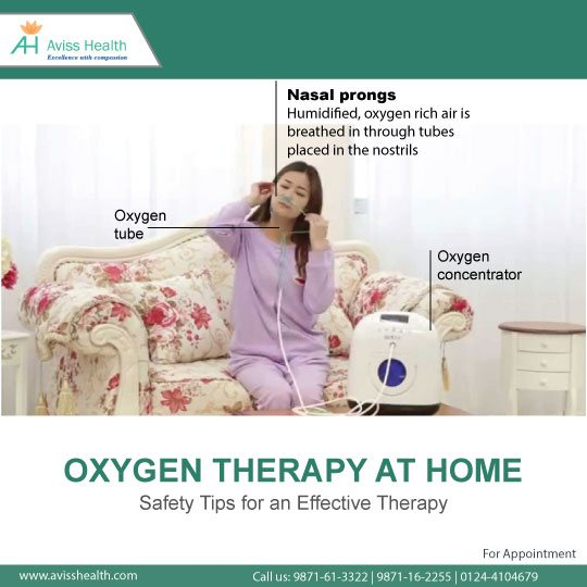 Oxygen Therapy At Home: Safety Tips for an Effective Therapy