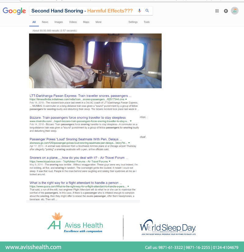 Second Hand Snoring- Harmful Effects?