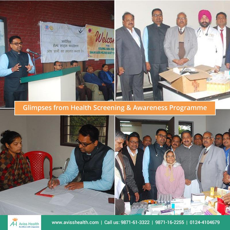 Health Screening & Awareness Programme