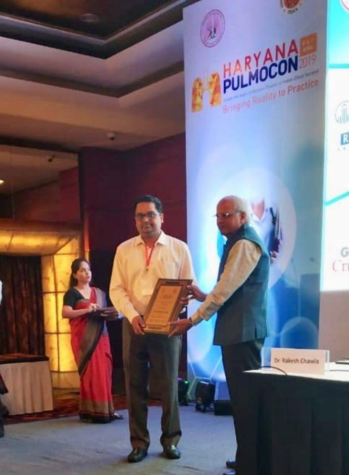 ICS Chairman Dr. Himanshu Garg