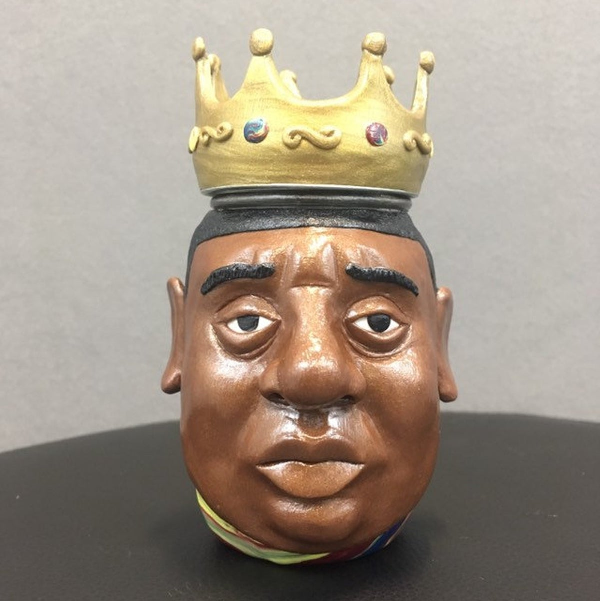 Etsy Gift Guide - Notorious B.I.G. Clay Sculpture Jar