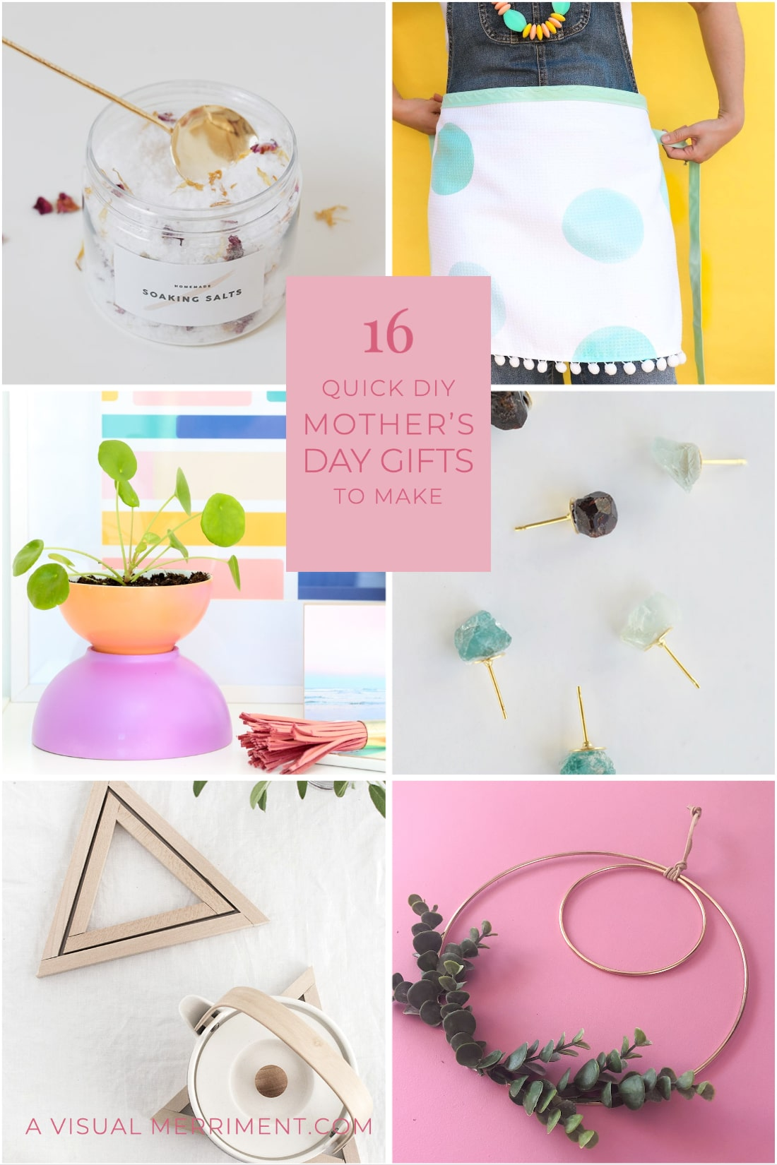 6 DIY gift ideas for mothers day