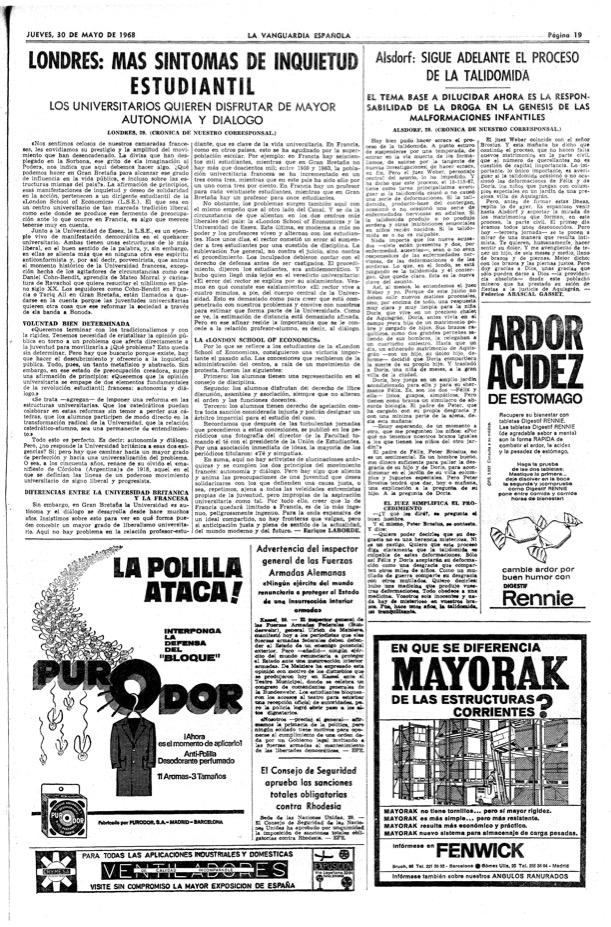 Juicio Talidomida 1968
