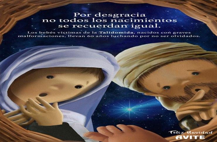 Resultado de búsqueda Talidomida Grünenthal Felicitación navideña sonora de AVITE y los talidomidicos