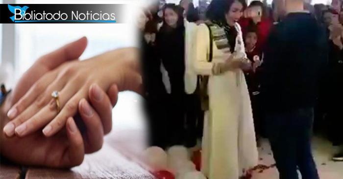 """""""Corruptos e Inmorales"""" son catalogados una pareja en Irak por hacer propuesta de matrimonio pública"""