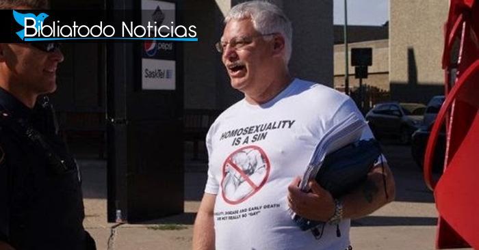 """Hombre cristiano es """"golpeado"""" con gran multa por desafiar la condición sexual de un político tránsgenero"""