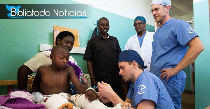 """MILAGROSA OPERACIÓN EN ÁFRICA: """"Fue Dios quién lo hizo"""", afirman médico misioneros"""