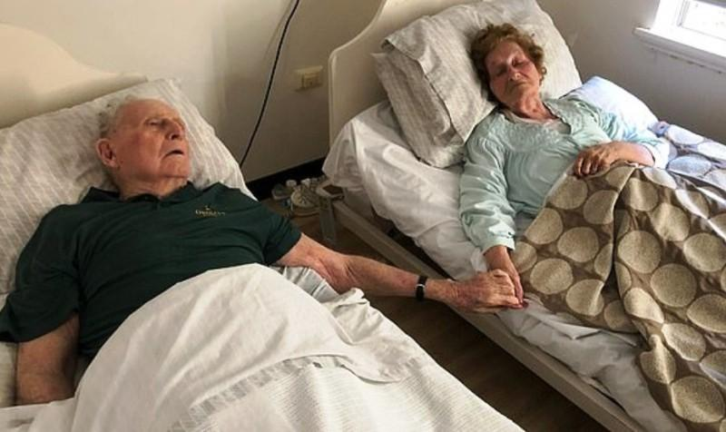 70 años de matrimonio murieron tomados de la mano