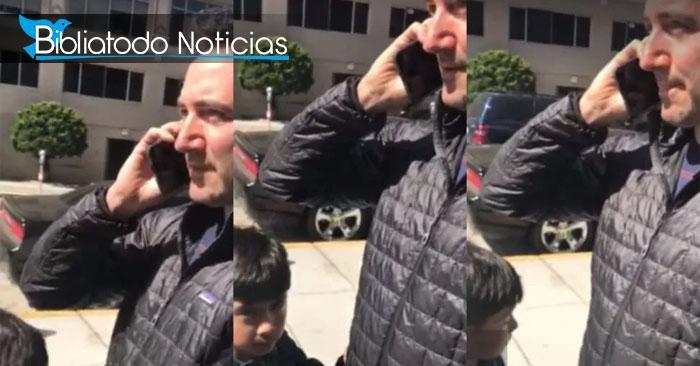 Con valentía niño defiende a hombre de color del ataque racista de su propio padre