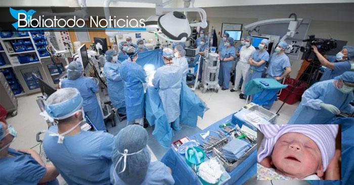 En EE.UU: Nace el primer bebé por útero trasplantado a mujer infertil