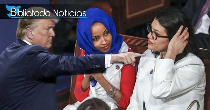 PROHIBIDO: Por intentar dañar a Israel, Congresistas musulmanas son vetadas por órdenes de Trump.