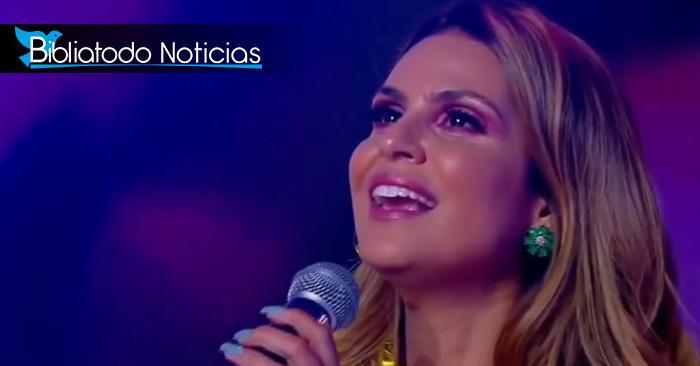Cantante cristiana Aline Barros