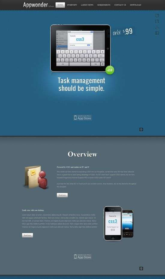 appwonder shape5 avjthemescom - AppWonder Joomla Template