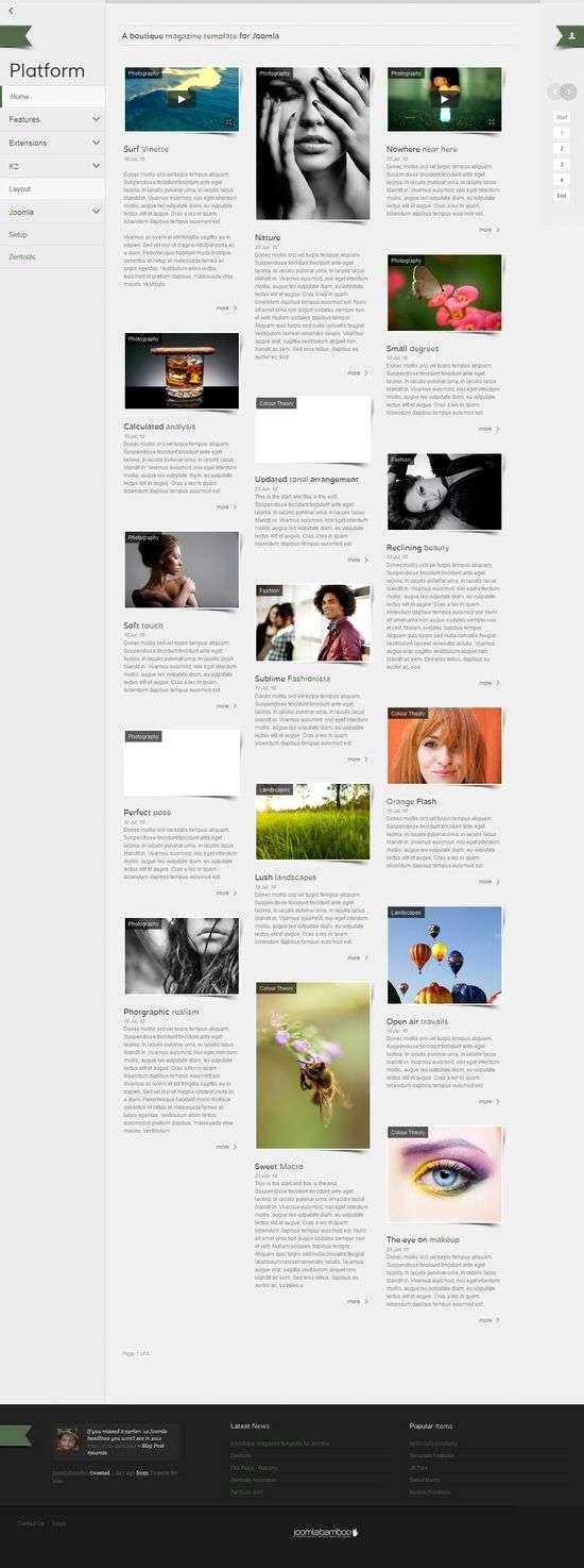 platform joomla template - Platform Joomla Template