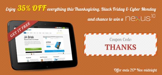 joomlart thanksgiving sale - Joomlart 35% Off Thanksgiving Sales Deal