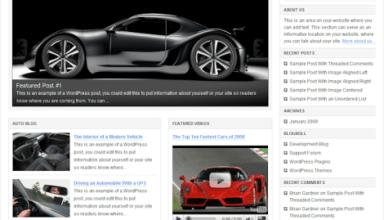 chrome 20 - Revolution Chrome 2.0 : Premium Wordpress Theme