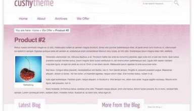 cushy pink - ST Octoban Drupal Theme