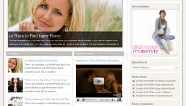 allure studiopress avjthemescom - Allure Wordpress Theme