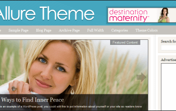 allure - StudioPress Wordpress Themes