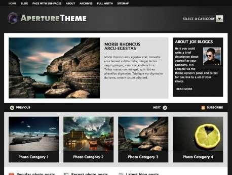 aperture woothemes avjthemescom - Aperture Wordpress Theme