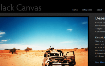 blackcanvas - StudioPress Wordpress Themes