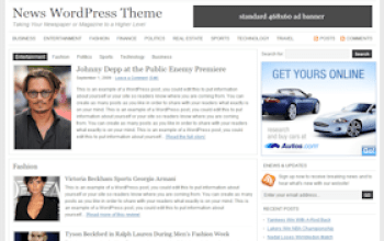 news - StudioPress Wordpress Themes