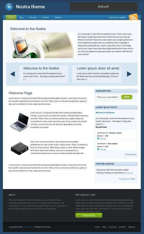 nostra theme avjthemescom.thumbnail - Nostra Premium Wordpress Theme