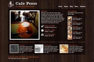 cafepress - Press75 Wordpress Themes