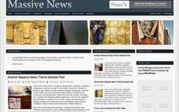 Massive News WordPress Theme