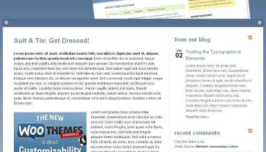suitandtie avjthemescom woothemes - Suit and Tie Wordpress Theme