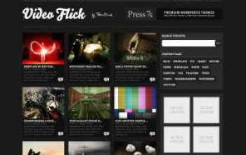 video flick - Press75 Wordpress Themes