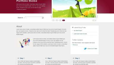 folium avjthemescom nattywp - Folium Wordpress Theme